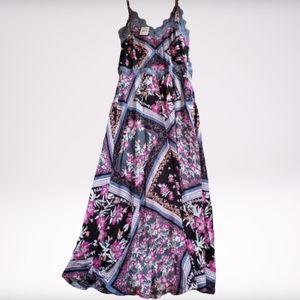 Free people Stevie Floral print maxi dress M NWT